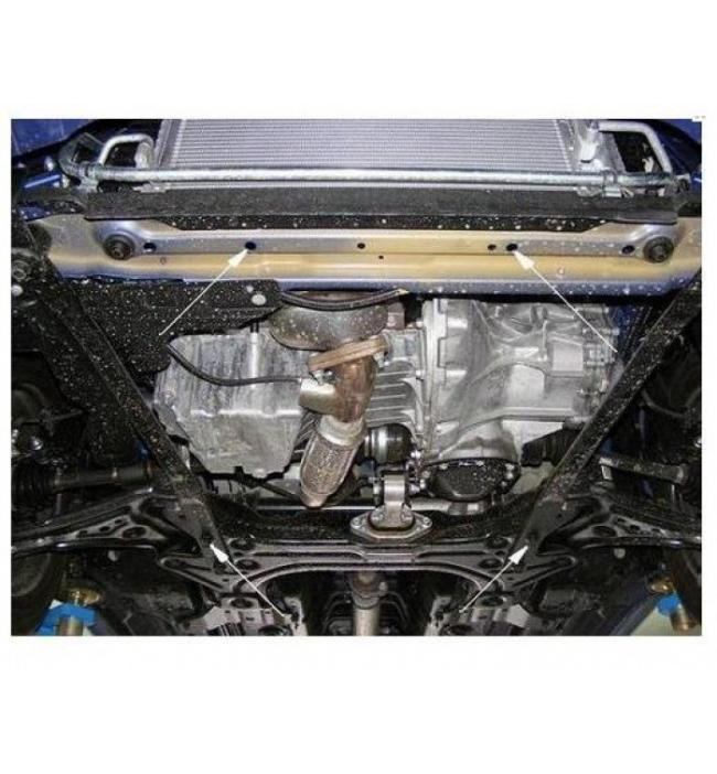Scut motor metalic pentru Chevrolet Aveo Sedan/Hatcback 2010