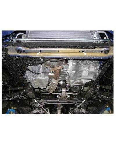 Scut motor metalic pentru Chevrolet Aveo Sedan/Hatcback 2008-