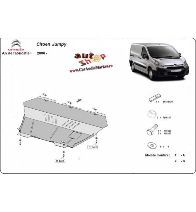 Scut auto metalic pentru motor Citroen Jumpy 2007 2008 2009 2010 2011 2012 2013 2014 2015 2016