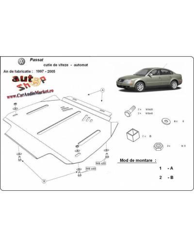 Scut metalic pentru cutia de viteze VW Passat B5, 2,5Tdi,V6,1997-2005 -Automata