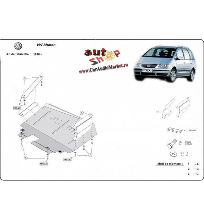 Scut metalic pentru motor si cutia de vitezeze Volkswagen Sharan.
