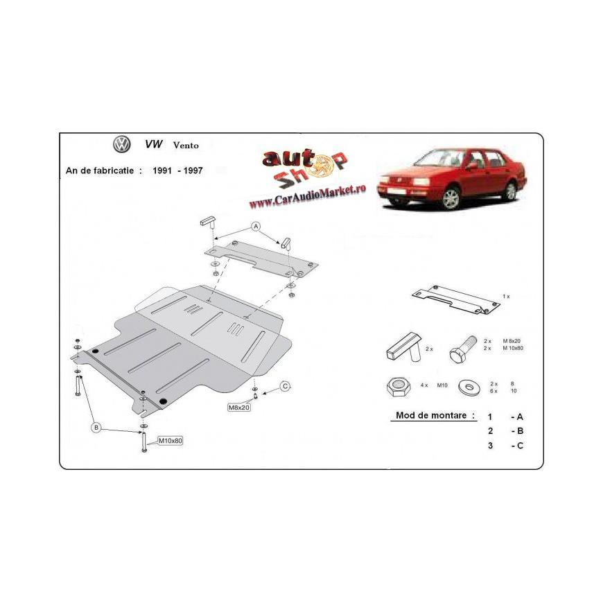 Scut metalic pentru motor si cutia de vitezeze Volkswagen Vento