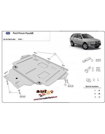 Scut metalic pentru motor si cutia de viteze Ford Focus Facelift