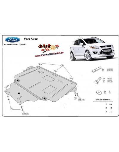 Scut motor metalic pentru pentru Ford Kuga 2008-