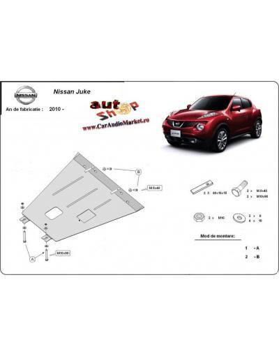 Scut metalic pentru motor si cutia de vitezeze Nissan Juke