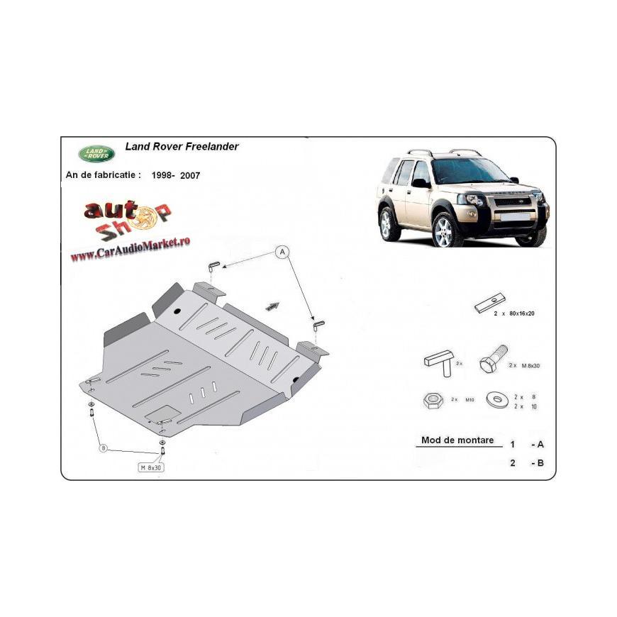 .Scut metalic pentru motor si cutia de viteze Land Rover Freelander 1998-2007.