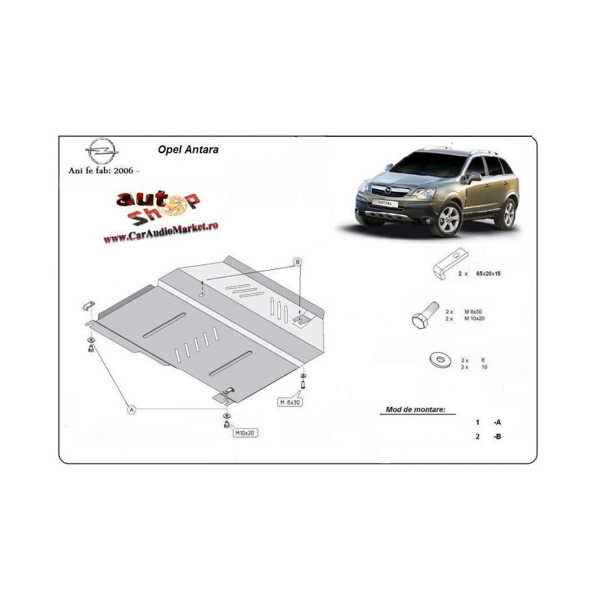 Scut metalic pentru motor si cutia de viteze Opel Antara 2006-