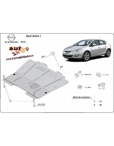 Scut motor metalic pentru Opel Astra i 2010-