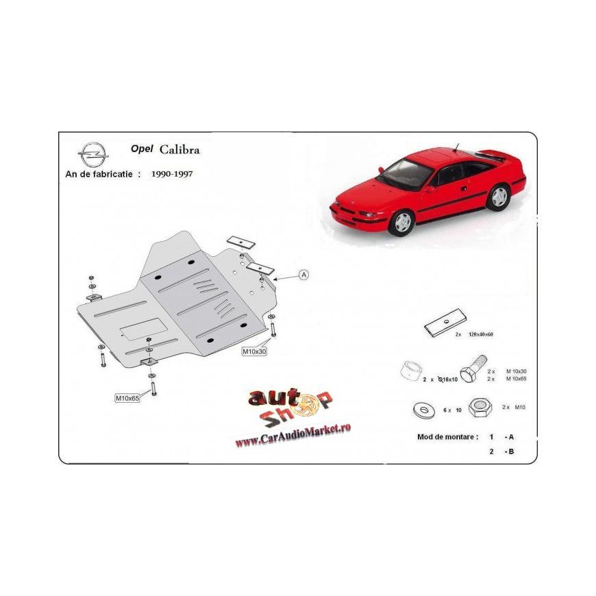 Scut metalic pentru motor si cutia de vitezeze Opel Calibra