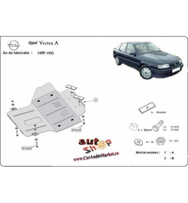 Scut metalic pentru motor si cutia de vitezeze Opel Vectra A 1988-1995