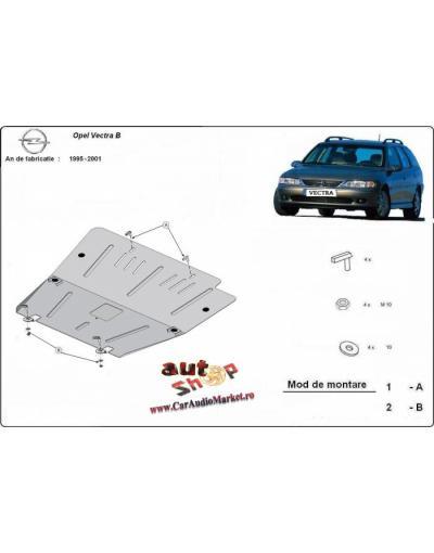 Scut metalic pentru motor si cutia de vitezeze Opel Vectra B 1995-2001