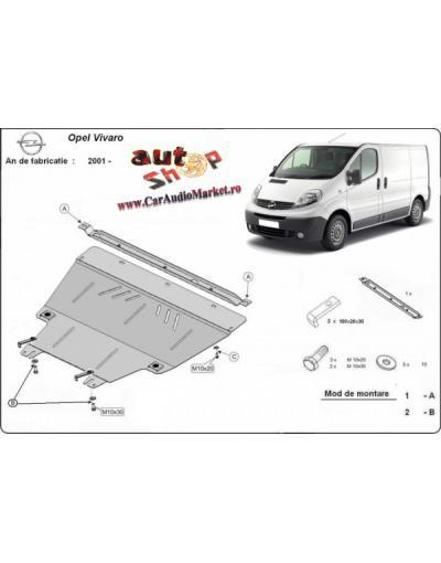 Scut metalic pentru motor si cutia de vitezeze Opel Vivaro