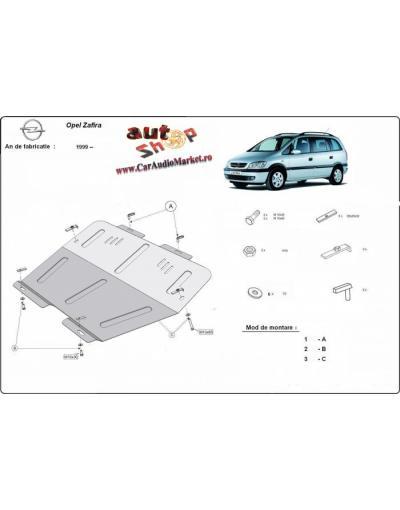 Scut metalic pentru motor si cutia de viteze Opel Zafira