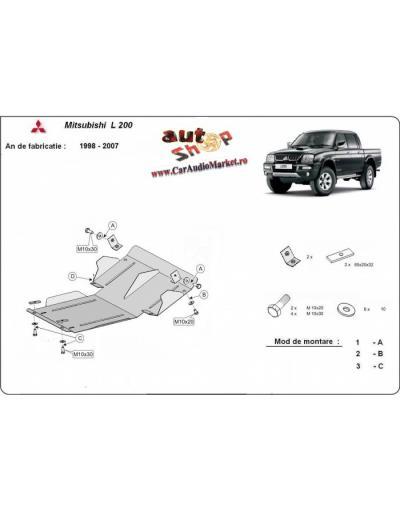 Scut auto metalic pentru Mitsubishi L200 1998-2007