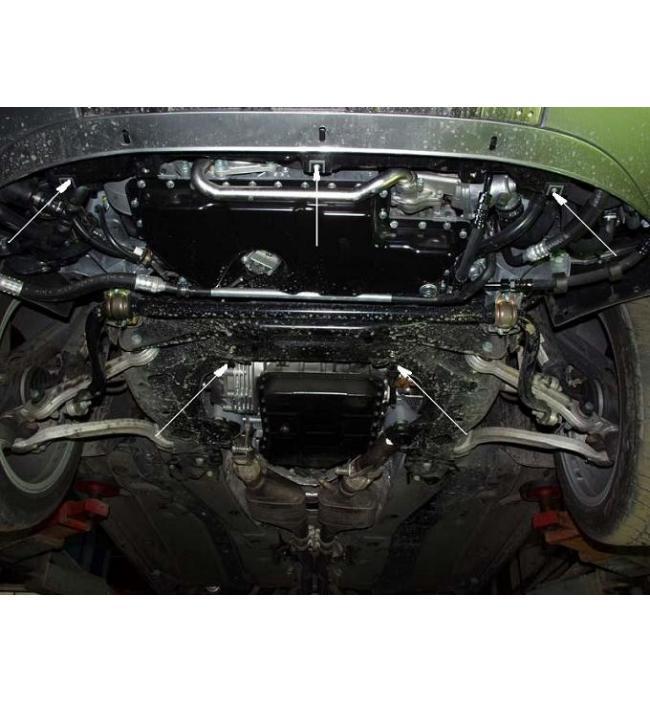 Scut motor metalic pentru Audi A6 1997-2004