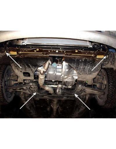 Scut motor metalic pentru Chevrolet Lacetti  2003-