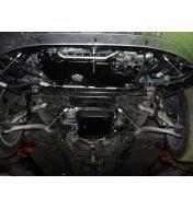 Scut motor metalic frontal Audi A4 1 1995 - 2001 (ptr. motorizari V6)