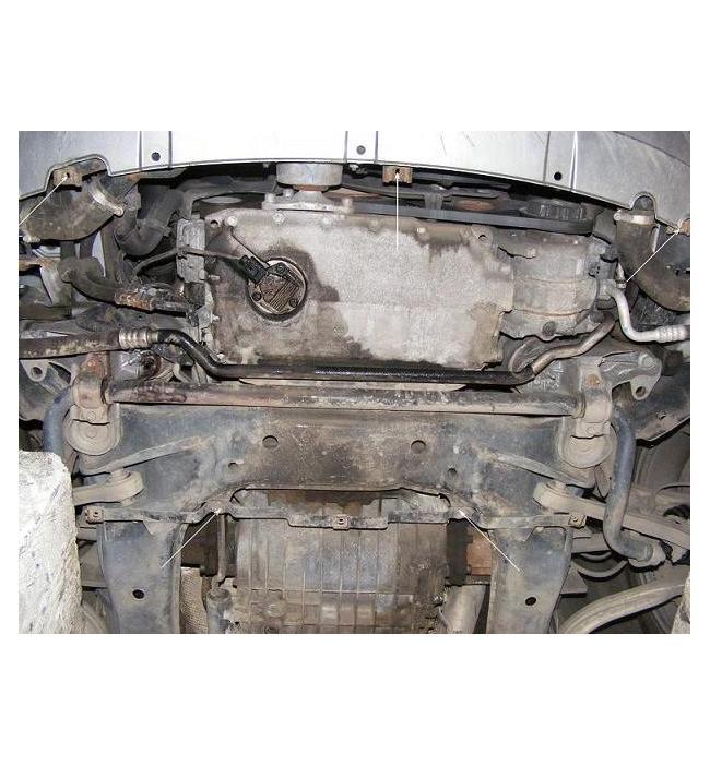 Scut motor metalic frontal Audi A4 2001-2005 (ptr. motorizari V6)