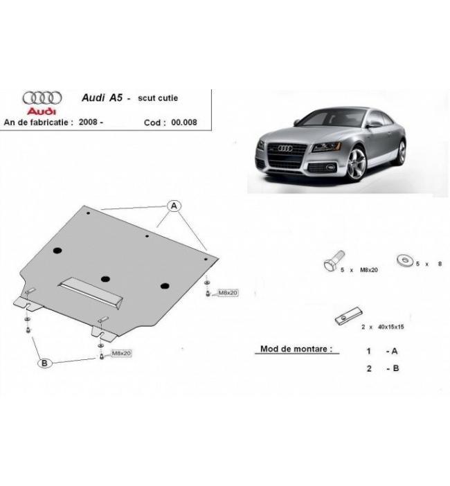 Scut metalic cutie de viteze Audi A5 fabricat dupa anul 2008