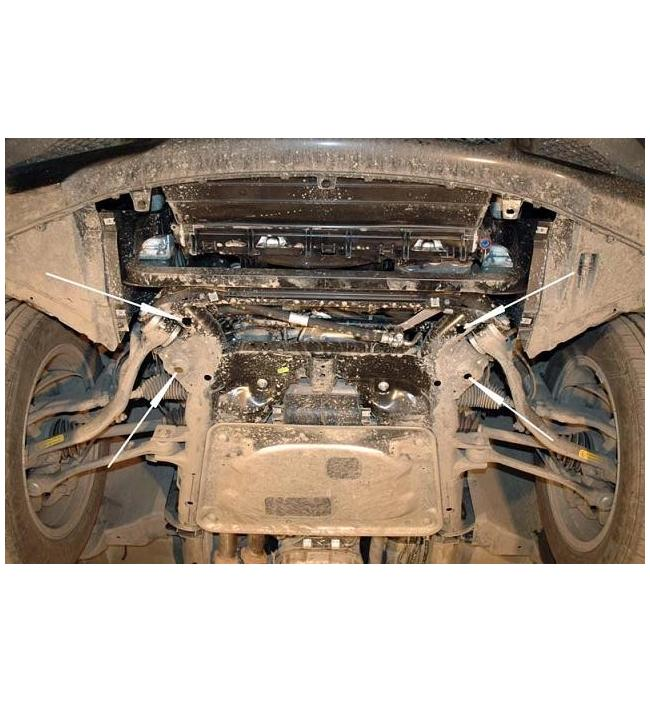 Scut motor metalic pentru Bmw X3 fabricat dupa anul 2004