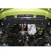 Scut auto metalic pentru motor Chevrolet Spark fab.2010-