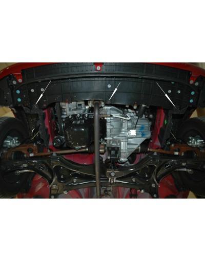 Scut  metalic motor si cutia de viteze Citroen C1