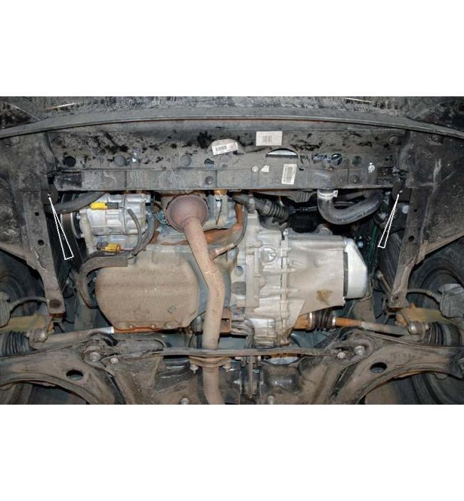 Scut metalic motor si cutia de viteze pentru Citroen C3