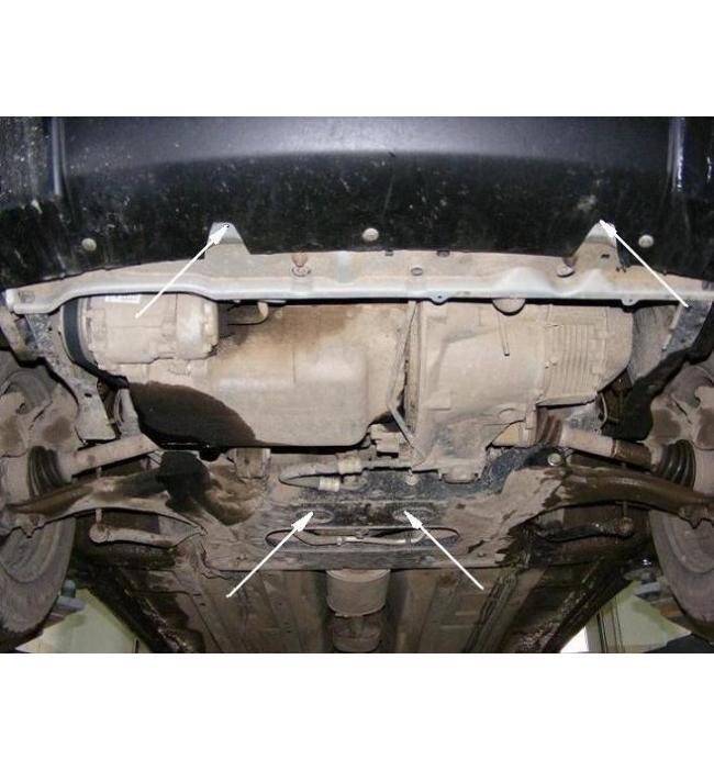 Scut metalic pentru motor si cutia de viteze Citroen Berlingo I 1997-2008