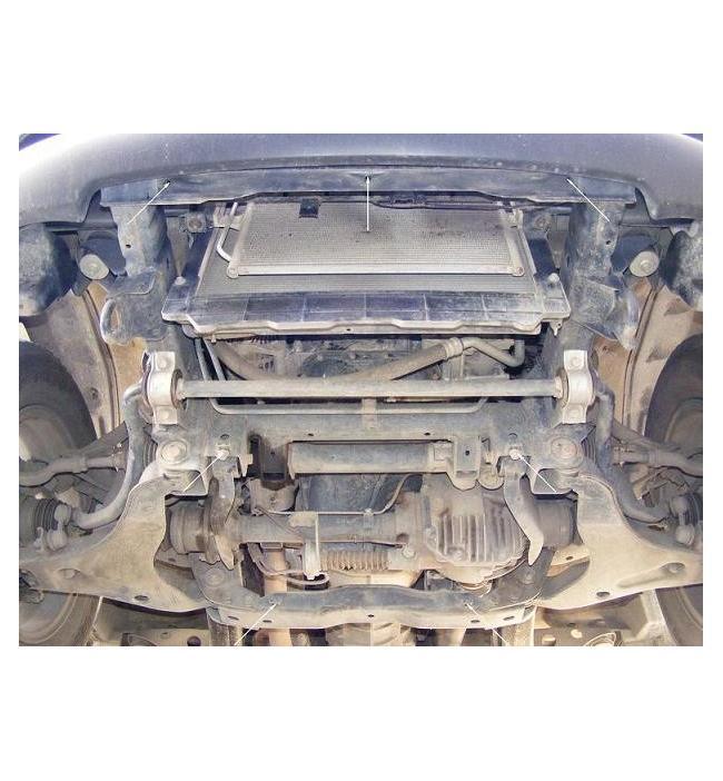 Scut metalic pentru motor si cutia de viteze Mitsubishi L200 2007-