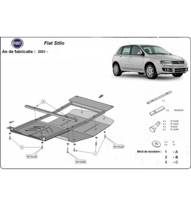 Scut Motor Fiat Stilo fabricat dupa 2001