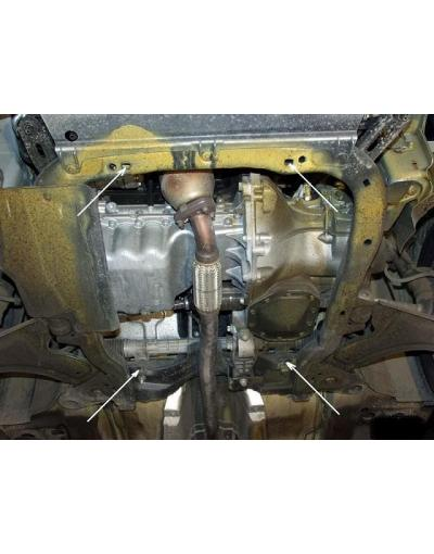 Scut metalic pentru motor si cutia de vitezeze Opel Combo
