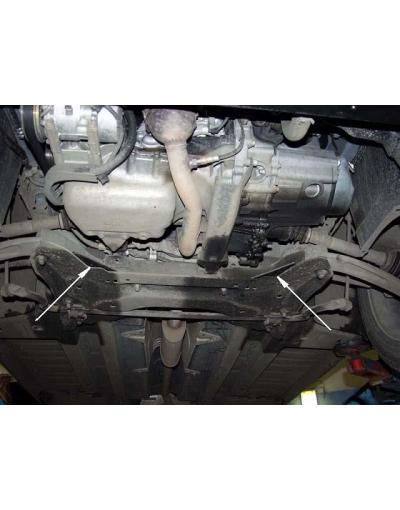 Scut metalic pentru motor si cutia de vitezeze Peugeot 307