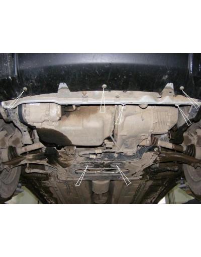 Scut metalic pentru motor si cutia de vitezeze Peugeot Partner I