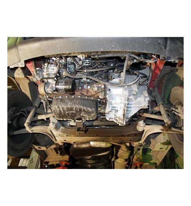Scut metalic pentru motor si cutia de viteze Renault Master 2001-