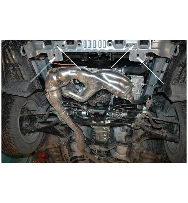 Scut metalic pentru motor si cutia de viteze Subaru Forester II dupa 2008.