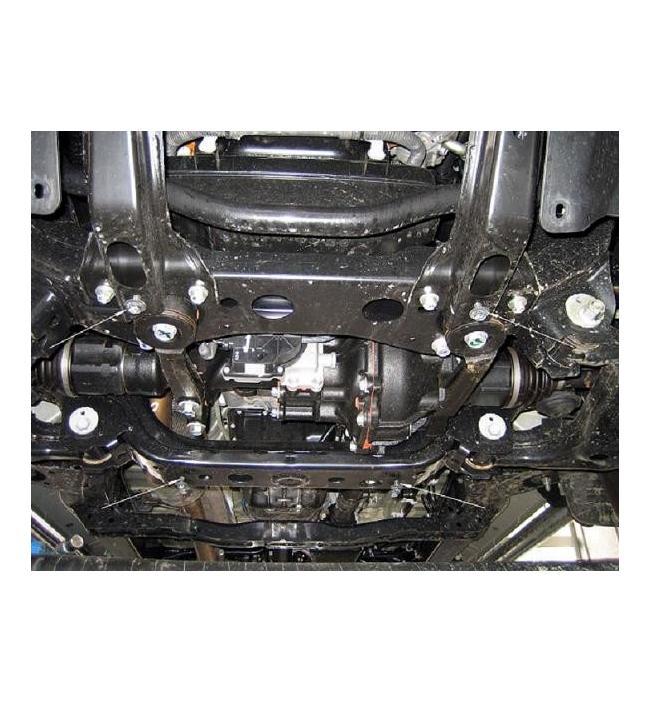 Scut diferential Toyota Hilux 2006-
