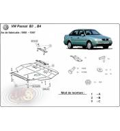 Scut metalic pentru motor si cutia de viteze VW Passat 1988-1997
