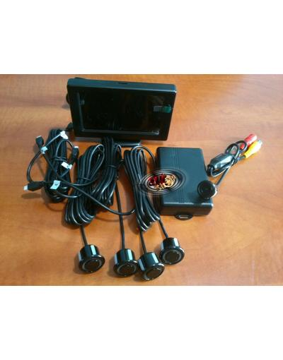 Senzori de parcare cu camera video