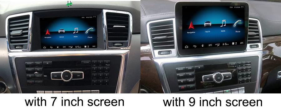 sistem de navigatie cu android pentru mercedes ml w166 caraudiomarket craiova
