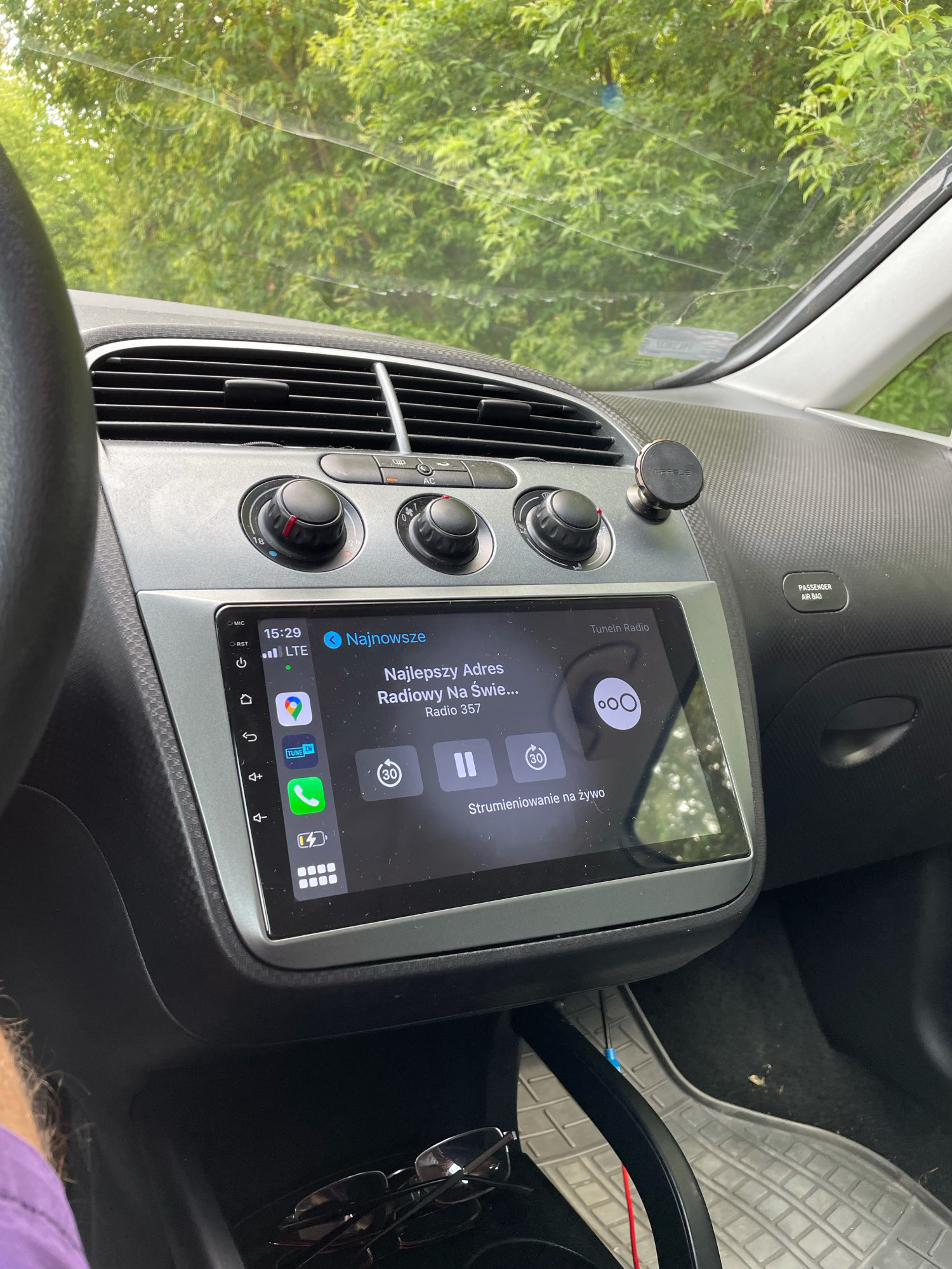 navigatie dedicata cu android seat toledo altea caraudiomarket craiova