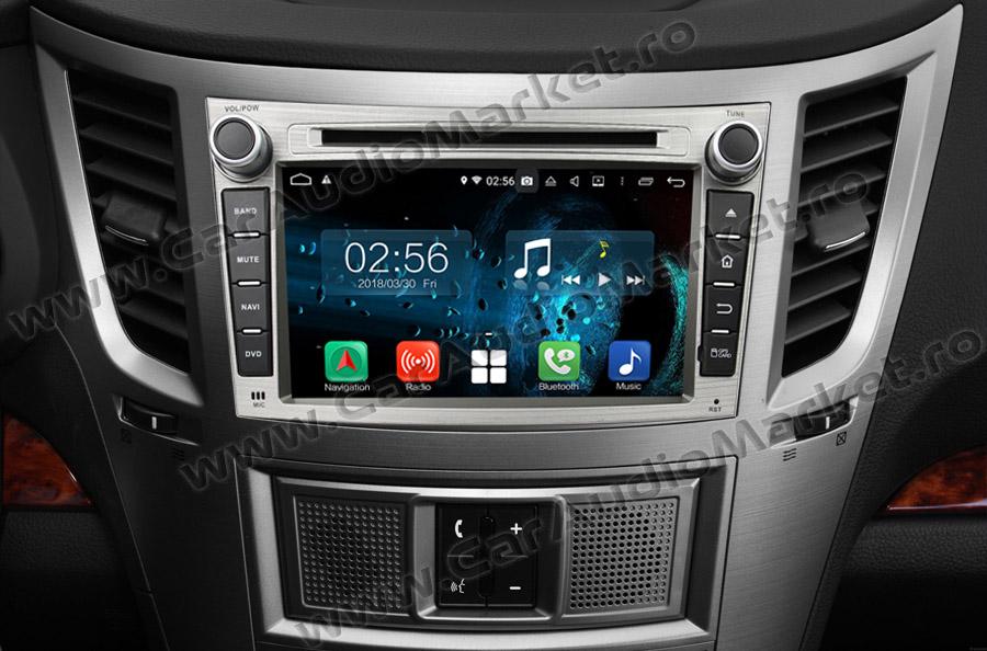 bord compatibil cu navigatie dedicata cu android subaru legacy outback 2008 2009 2010 2011 2012 2013 2014